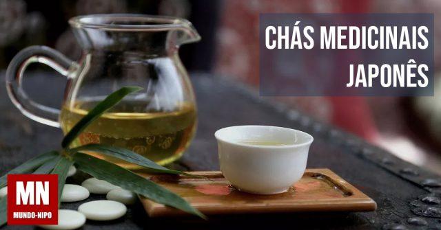 chás japoneses medicinais