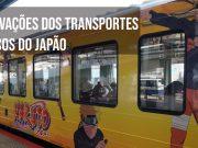 trens publicos do japão