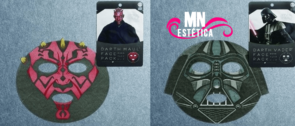 Máscaras faciais baseadas em Star Wars