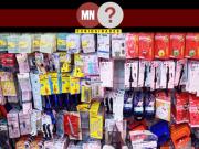 Seção da loja Daiso Tailandia