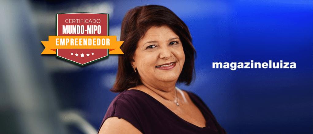 Luiza Helena TRajano, presidente das redes Magazine Luiza