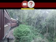 Imagem ilustrativa de um trem em movimento