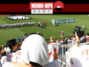 Imagens dos jogos de rugby em kamaishi