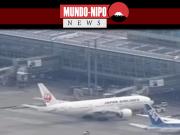 Imagem aérea do aeroporto de Haneda