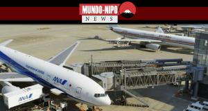 Aeroporto no Japão se prepara para receber os convidados para a cerimônia imperial