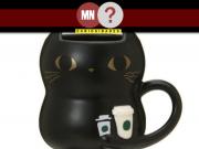 Caneca de gato versão Halloween Starbucks