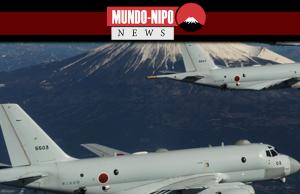 Aviões de patrulha japonesa
