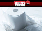 Papel higiênico representando a temática da notícia.