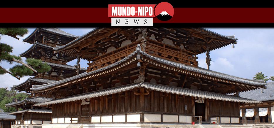 Templo japonês pronto para receber novos visitantes