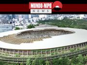 Estádio nacional do Japão fica pronto