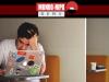 Pessoa trabalhando estressada