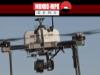 Drones japoneses em teste