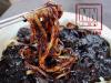 Molho de feijão preto com macarrão