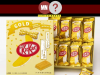 kitkat de banana ouro