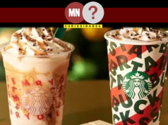Bebidas de natal do starbucks