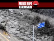 Imagens de tsunami ocorrido no Japão