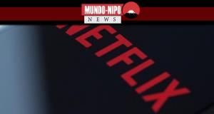Logotipo da netflix em um smartphone