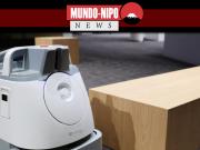 O robô de limpeza industrial da Softbank Corp. Whizz pode limpar cerca de 1.500 metros quadrados de área útil com uma única carga.
