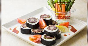 Sushi de carne