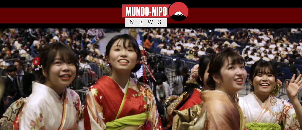 Cerimonia da maioridade é realizada em todo o Japão