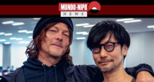 Hideo Kojima ao lado de seu grande amigo