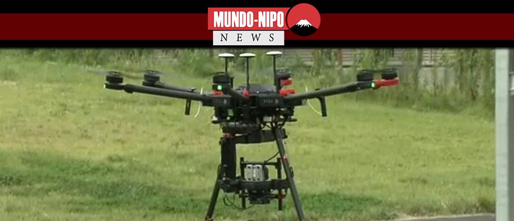 Japão apoiará a produção de drones para diversos fins