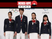 Os uniformes cerimoniais para as equipes olímpicas e paralímpicas do Japão são revelados