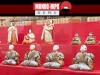 Uma coleção de bonecas japonesas é mostrada para a mídia no Museu Iwatsuki Ningyo na cidade de Saitama na terça-feira.