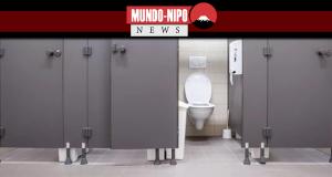 Ciencia descobre a cabine mais limpa do banheiro publico