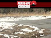 Neve se torna escassa nesta época do ano, batendo recorde de queda mais baixa