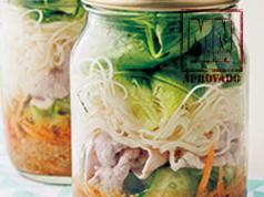Salada de pote japonesa