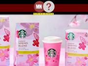 Starbucks cria linha de primavera