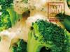 brocolis com molho de misso