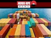Exportações e importações asiáticas caem drasticamente
