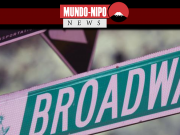 Placa de sinalização da Broadway