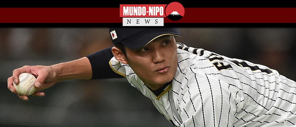 Shintaro fujinami jogador de beisebol pela hanshin tigers
