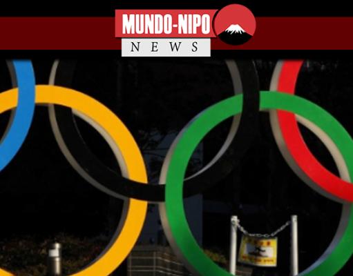 aneis olimpicos instalados em tokyo