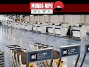 aeroporto de haneda completamente vazio