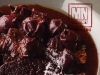 bife com molho de uva